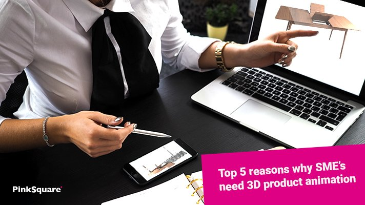 why sme need 3d product animation