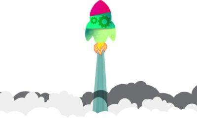 rocket animation
